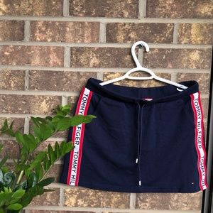 Blue Tommy Hilfiger Sporty Skirt